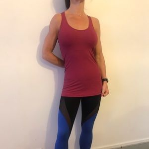 Lululemon striped racerback tank